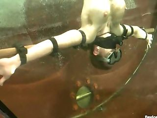 BDSM, Blonde, Underwater,