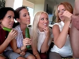 Anal Sex, Ariella Ferrera, Blonde, Blowjob, Brunette, Clothed Sex, Diana Doll, Group Sex, Handjob, HD,